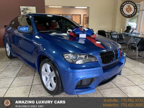 2011 BMW X6 M for sale at Amazing Luxury Cars in Snellville GA