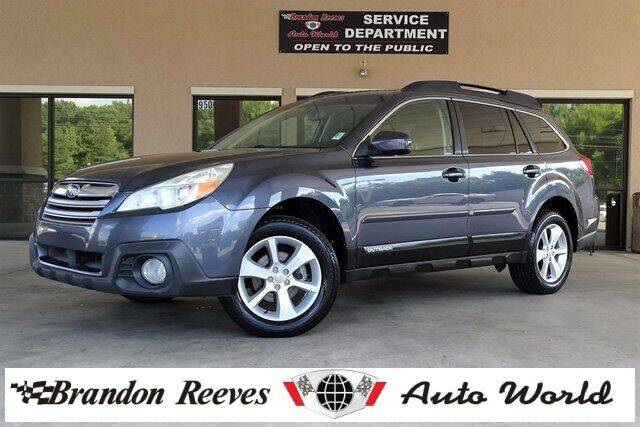 2014 Subaru Outback for sale at Brandon Reeves Auto World in Monroe NC