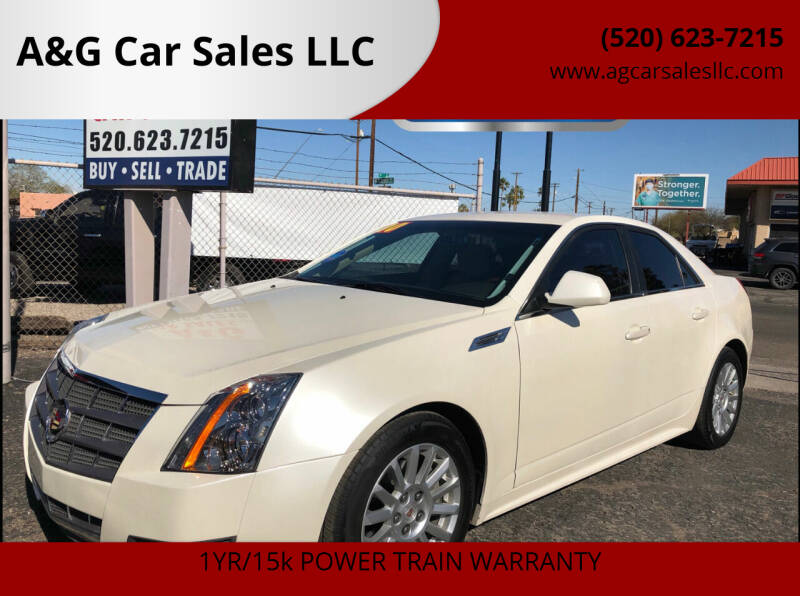 2010 Cadillac CTS for sale at A&G Car Sales  LLC in Tucson AZ