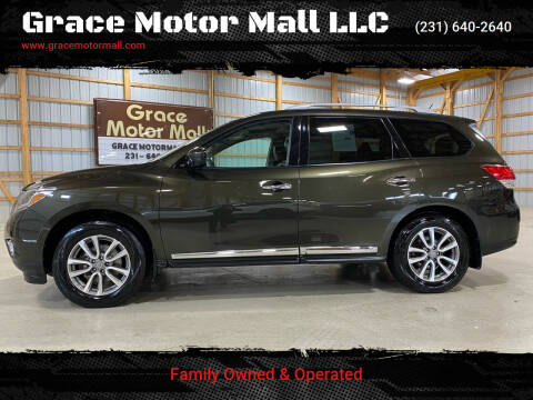 2015 Nissan Pathfinder for sale at Grace Motor Mall LLC in Traverse City MI