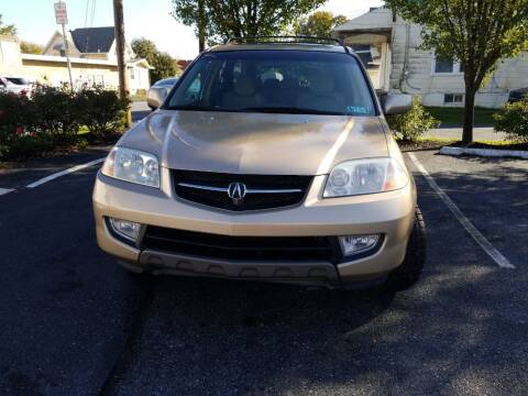 2001 Acura MDX for sale at Roy's Auto Sales in Harrisburg PA