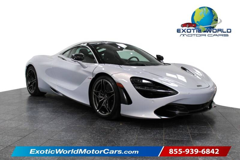 2018 McLaren 720S for sale at Exotic World Motor Cars in Addison TX