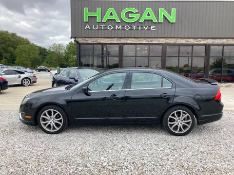 2010 Ford Fusion for sale at Hagan Automotive in Chatham IL