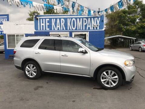 2011 Dodge Durango for sale at The Kar Kompany Inc. in Denver CO