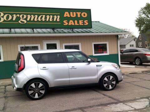 2015 Kia Soul for sale at Borgmann Auto Sales in Norfolk NE