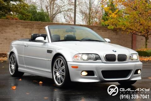 2002 BMW M3 for sale at Galaxy Autosport in Sacramento CA
