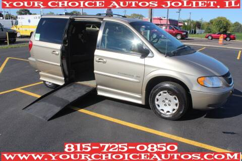 2003 Chrysler Town and Country for sale at Your Choice Autos - Joliet in Joliet IL