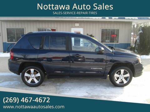 2016 Jeep Compass for sale at Nottawa Auto Sales in Nottawa MI