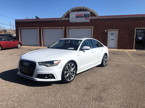 2012 Audi A6 for sale at Family Auto Finance OKC LLC in Oklahoma City OK