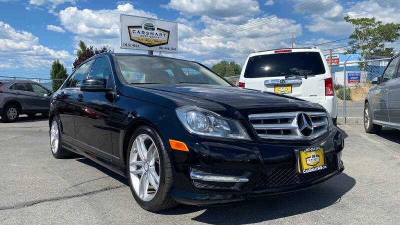 2012 Mercedes-Benz C-Class for sale at CarSmart Auto Group in Murray UT