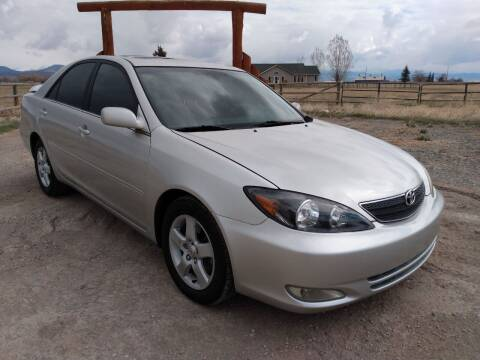 2004 Toyota Camry for sale at Kevs Auto Sales in Helena MT