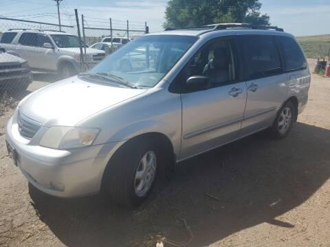 2001 Mazda MPV for sale at PYRAMID MOTORS - Pueblo Lot in Pueblo CO