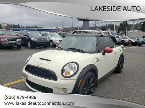 2007 MINI Cooper for sale at Lakeside Auto in Lynnwood WA