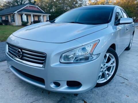 2012 Nissan Maxima for sale at Cobb Luxury Cars in Marietta GA