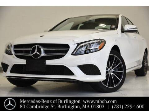 2019 Mercedes-Benz C-Class for sale at Mercedes Benz of Burlington in Burlington MA