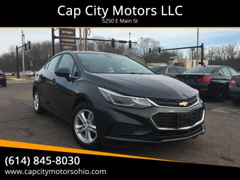 2018 Chevrolet Cruze for sale at Cap City Motors LLC in Columbus OH