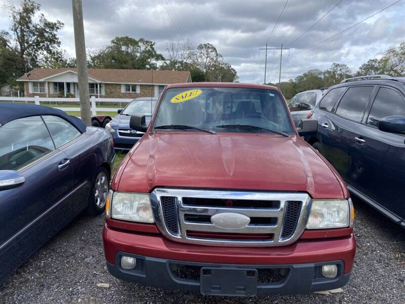 2006 Ford Ranger for sale at THE COLISEUM MOTORS in Pensacola FL
