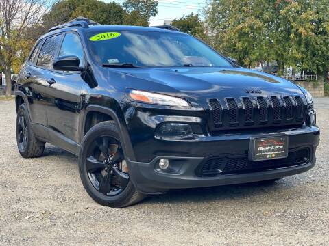 2016 Jeep Cherokee for sale at Best Cars Auto Sales in Everett MA