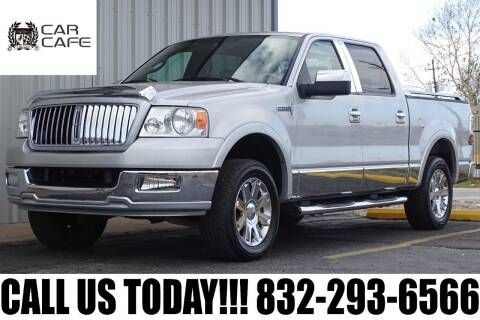 2006 Lincoln Mark LT for sale at CAR CAFE LLC in Houston TX