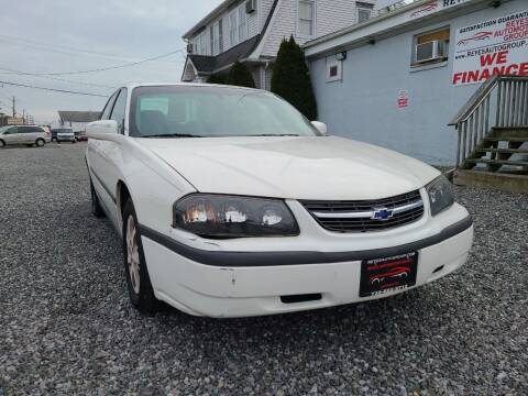 2002 Chevrolet Impala for sale at Reyes Automotive Group in Lakewood NJ