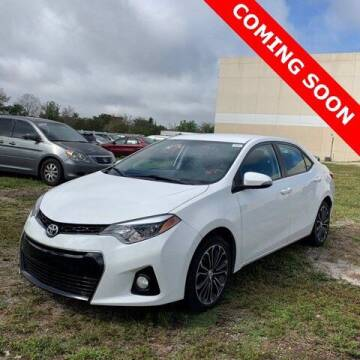 2016 Toyota Corolla for sale at Monster Cars in Pompano Beach FL