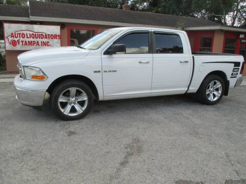 2010 Dodge Ram Pickup 1500 for sale at Auto Liquidators of Tampa in Tampa FL