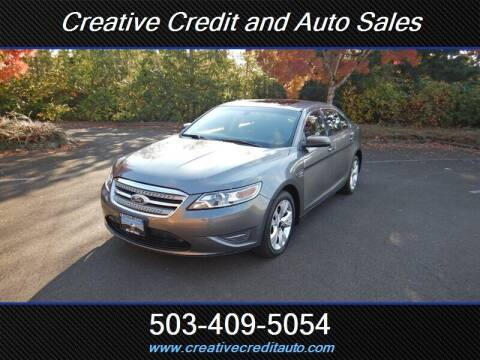 2011 Ford Taurus for sale at Creative Credit & Auto Sales in Salem OR