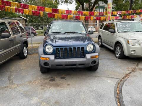 2003 Jeep Liberty for sale at Chambers Auto Sales LLC in Trenton NJ