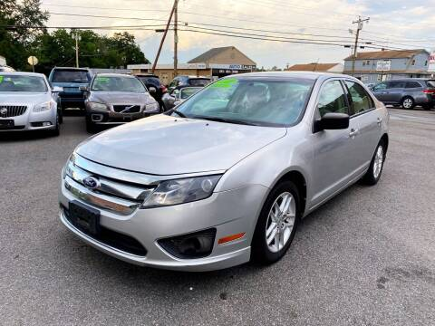 2010 Ford Fusion for sale at Dijie Auto Sale and Service Co. in Johnston RI