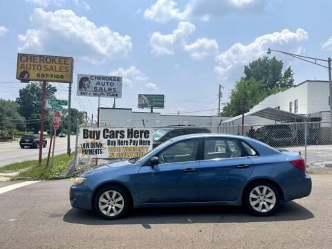 2008 Subaru Impreza for sale at Cherokee Auto Sales in Knoxville TN