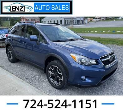 2013 Subaru XV Crosstrek for sale at LENZI AUTO SALES in Sarver PA