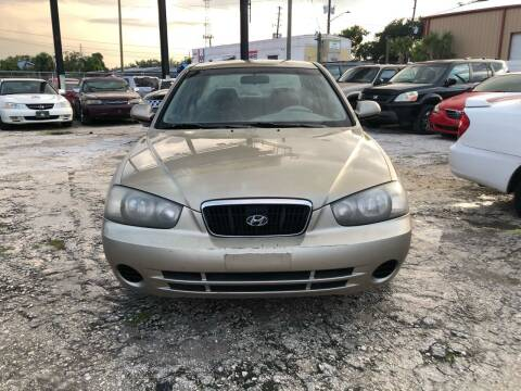 2002 Hyundai Elantra for sale at Mego Motors in Orlando FL