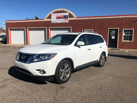 2014 Nissan Pathfinder for sale at Family Auto Finance OKC LLC in Oklahoma City OK