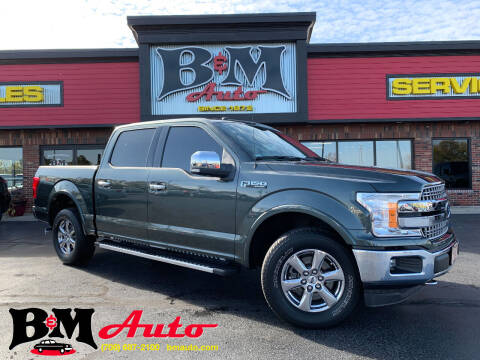 2018 Ford F-150 for sale at B & M Auto Sales Inc. in Oak Forest IL