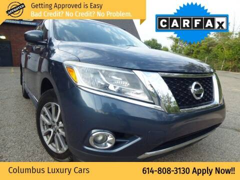 2014 Nissan Pathfinder for sale at Columbus Luxury Cars in Columbus OH