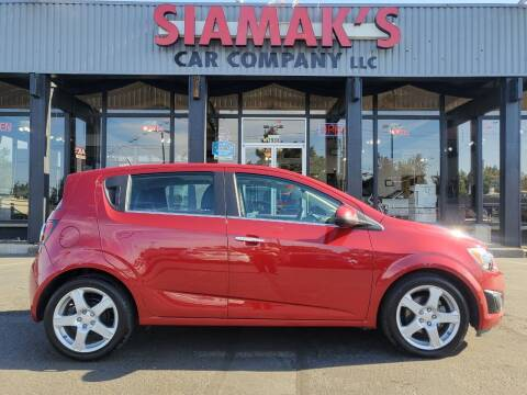 2013 Chevrolet Sonic for sale at Siamak's Car Company llc in Salem OR