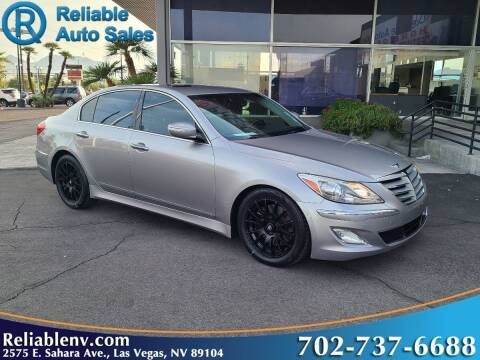 2012 Hyundai Genesis for sale at Reliable Auto Sales in Las Vegas NV