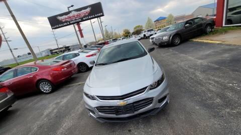 2016 Chevrolet Malibu for sale at Washington Auto Group in Waukegan IL