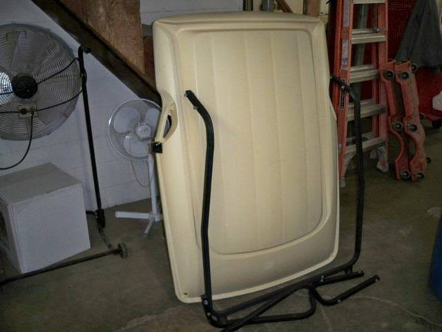 -1 Club Car DS Used  DS Uprights and Canopy - Reedsville WI