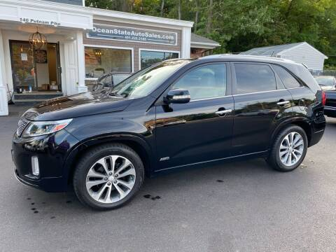 2014 Kia Sorento for sale at Ocean State Auto Sales in Johnston RI