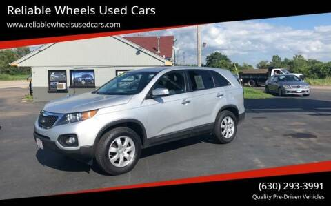 2013 Kia Sorento for sale at Reliable Wheels Used Cars in West Chicago IL