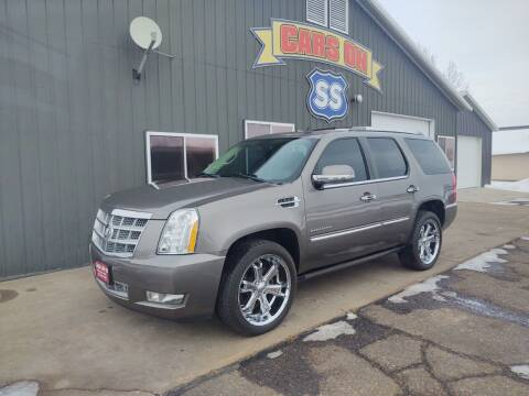 2011 Cadillac Escalade for sale at CARS ON SS in Rice Lake WI