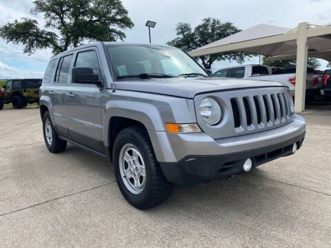 2016 Jeep Patriot for sale at Thornhill Motor Company in Hudson Oaks, TX
