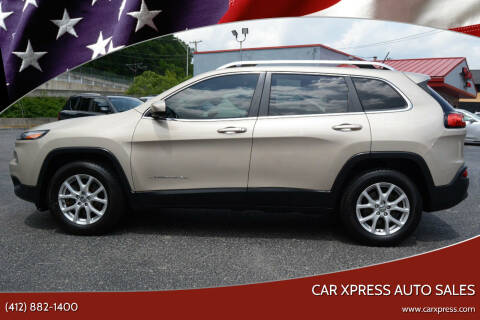 2015 Jeep Cherokee for sale at Car Xpress Auto Sales in Pittsburgh PA