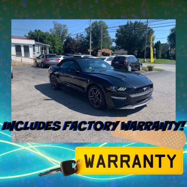2018 Ford Mustang for sale at LAUER BROTHERS AUTO SALES in Dover PA
