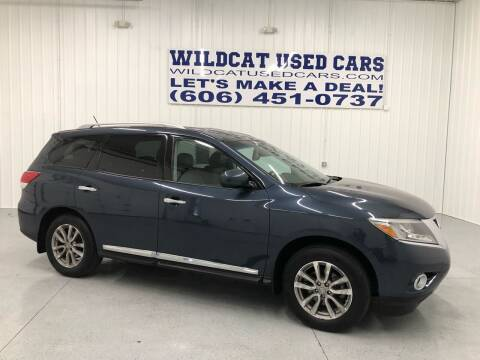 2014 Nissan Pathfinder for sale at Wildcat Used Cars in Somerset KY