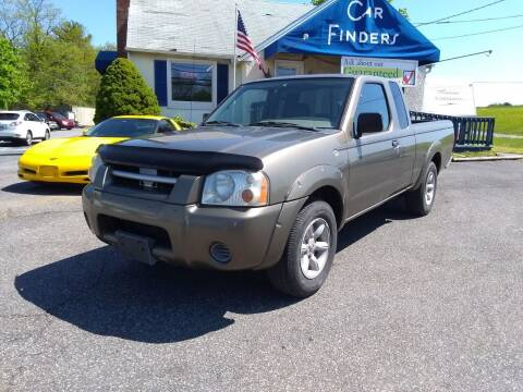 2001 Nissan Frontier for sale at CAR FINDERS OF MARYLAND LLC in Eldersburg MD