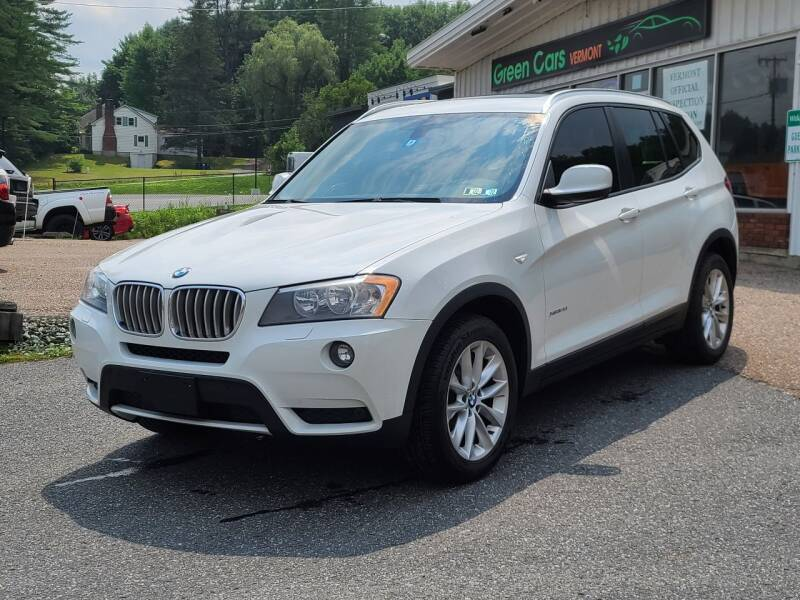 2014 BMW X3 for sale at Green Cars Vermont in Montpelier VT