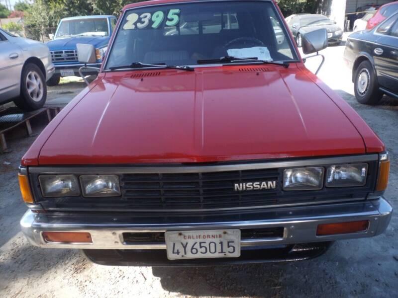 1985 Nissan Pickup for sale at AJ'S Auto Sale Inc in San Bernardino CA