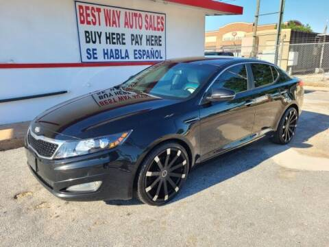 2013 Kia Optima for sale at Best Way Auto Sales II in Houston TX
